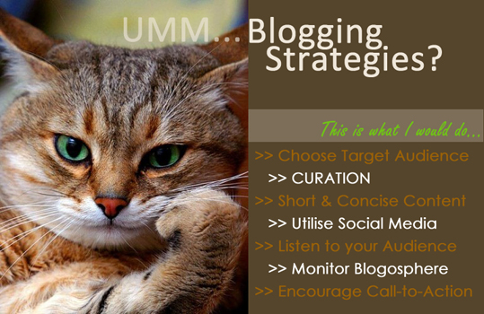 My 7 Blogging Strategies